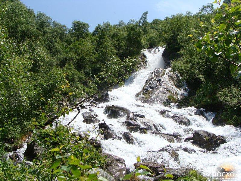 пансионат водопад в абхазии фото
